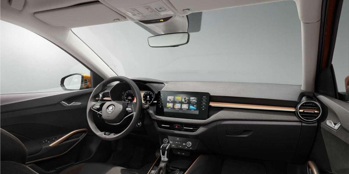 The new 2021 Skoda Fabia with VW's EVO engines